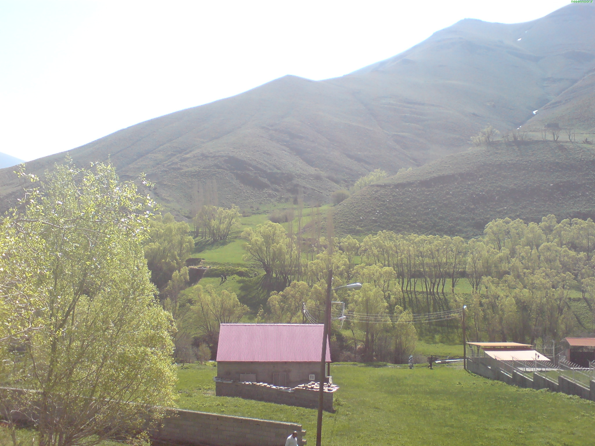 محل نوردن در فصل بهار