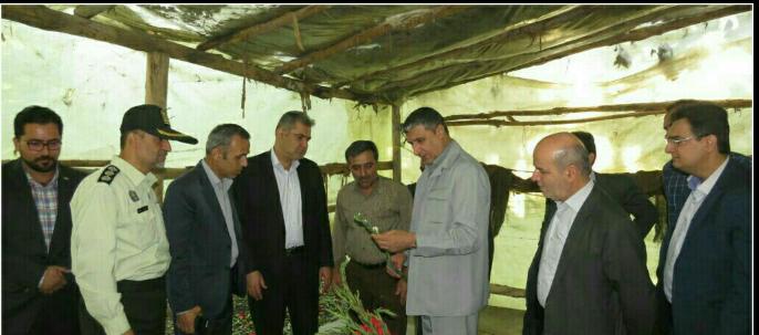 بازدید استاندار مازندران از بخش بلده