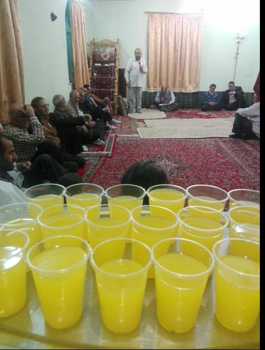 جشن عید غدیر در نسن