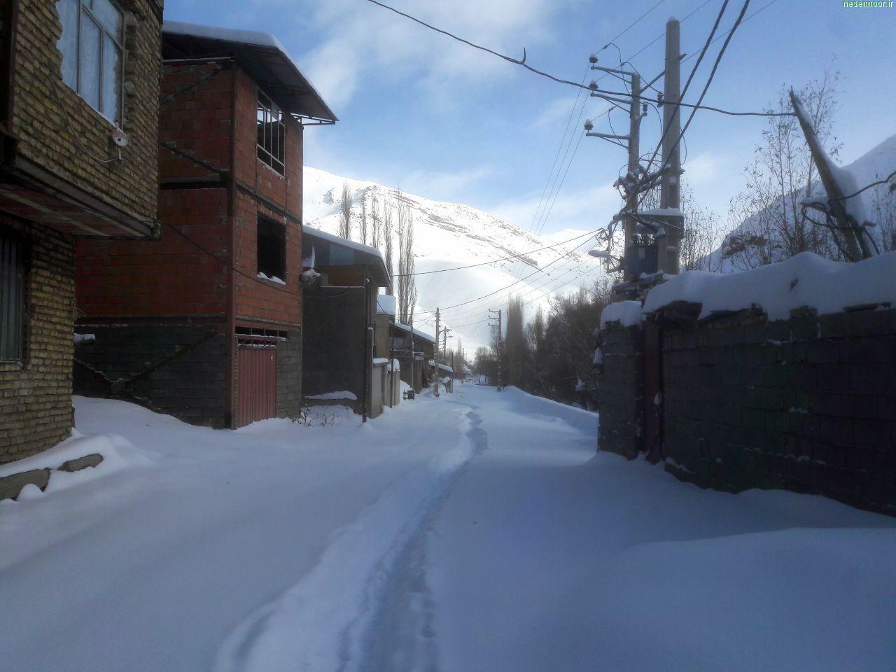 طبیعت زمستانی نسن
