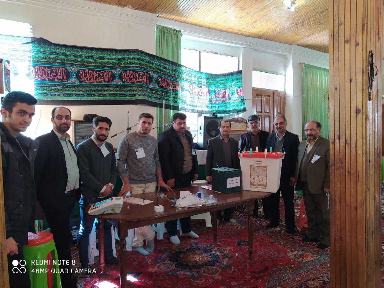 برگزاری یازدهمین انتخابات مجلس شورای اسلامی در نسن